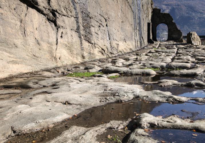La Via delle Gallie a Donnas (E. Romanzi)