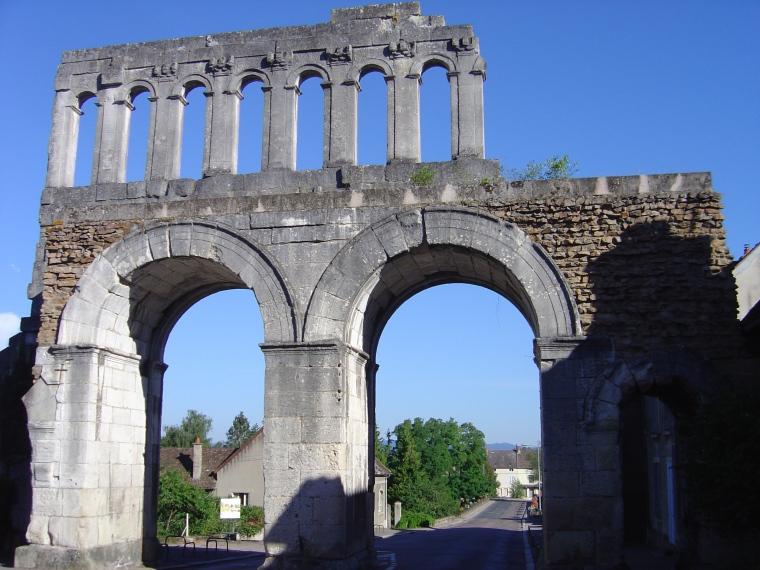 La Porte d'Arroux (lato sud) - S. Bertarione
