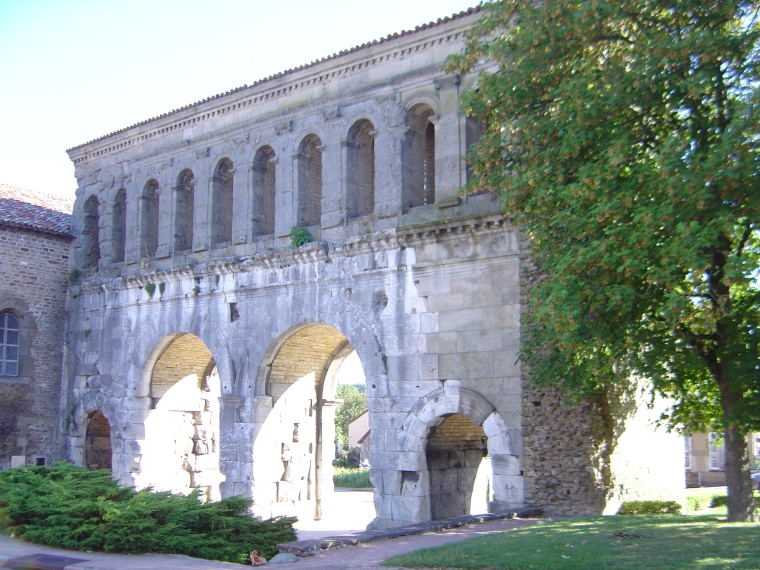 La Porte Saint-André (lato ovest) - S. Bertarione