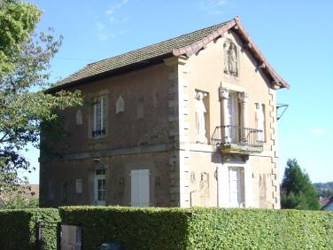 Maison des Caves Joyaux, affacciata sull'area del teatro di Autun (S. Bertarione)