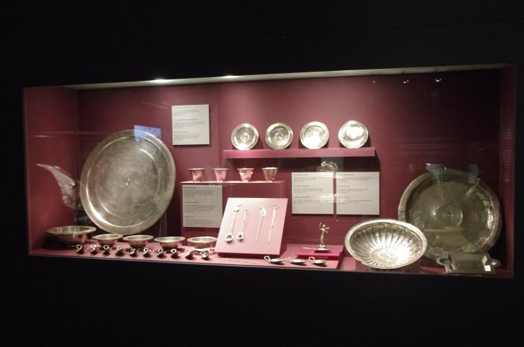 Silver Treasure - Roman Museum - Augusta Raurica - August 2013