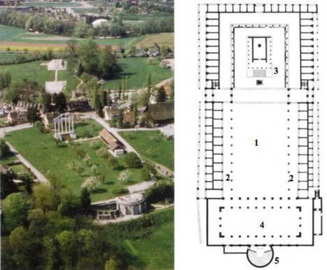 Il complesso forense di Augusta Raurica (da college.ecj23.org)