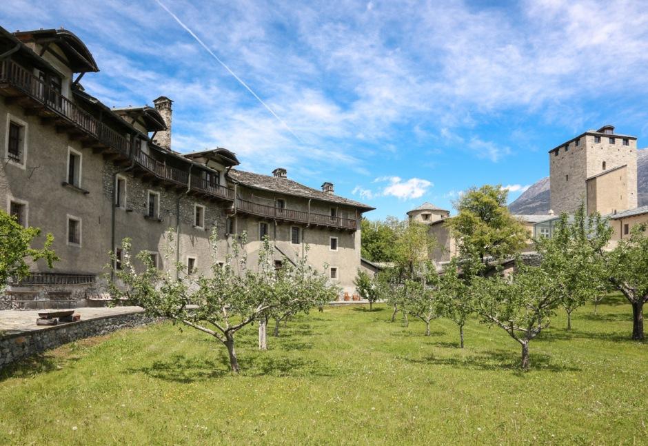 Il giardino del convento di Santa Caterina. (Foto di Enrico Romanzi)
