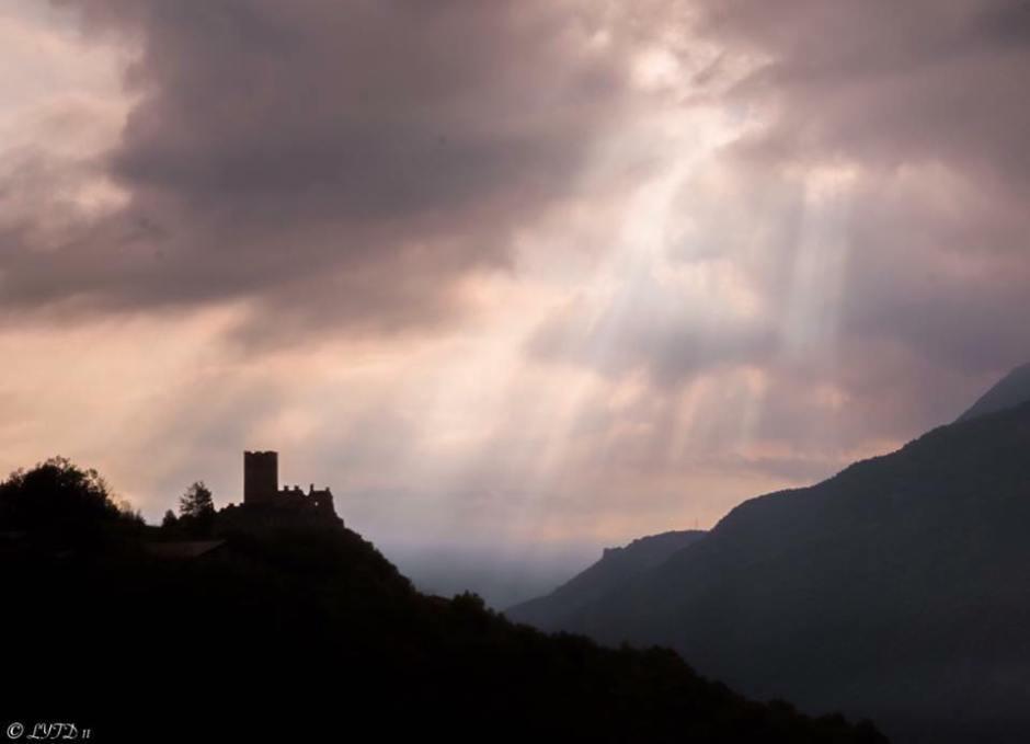 Il Castello di Cly. (Foto di Emi Dattolo-LYTD11)