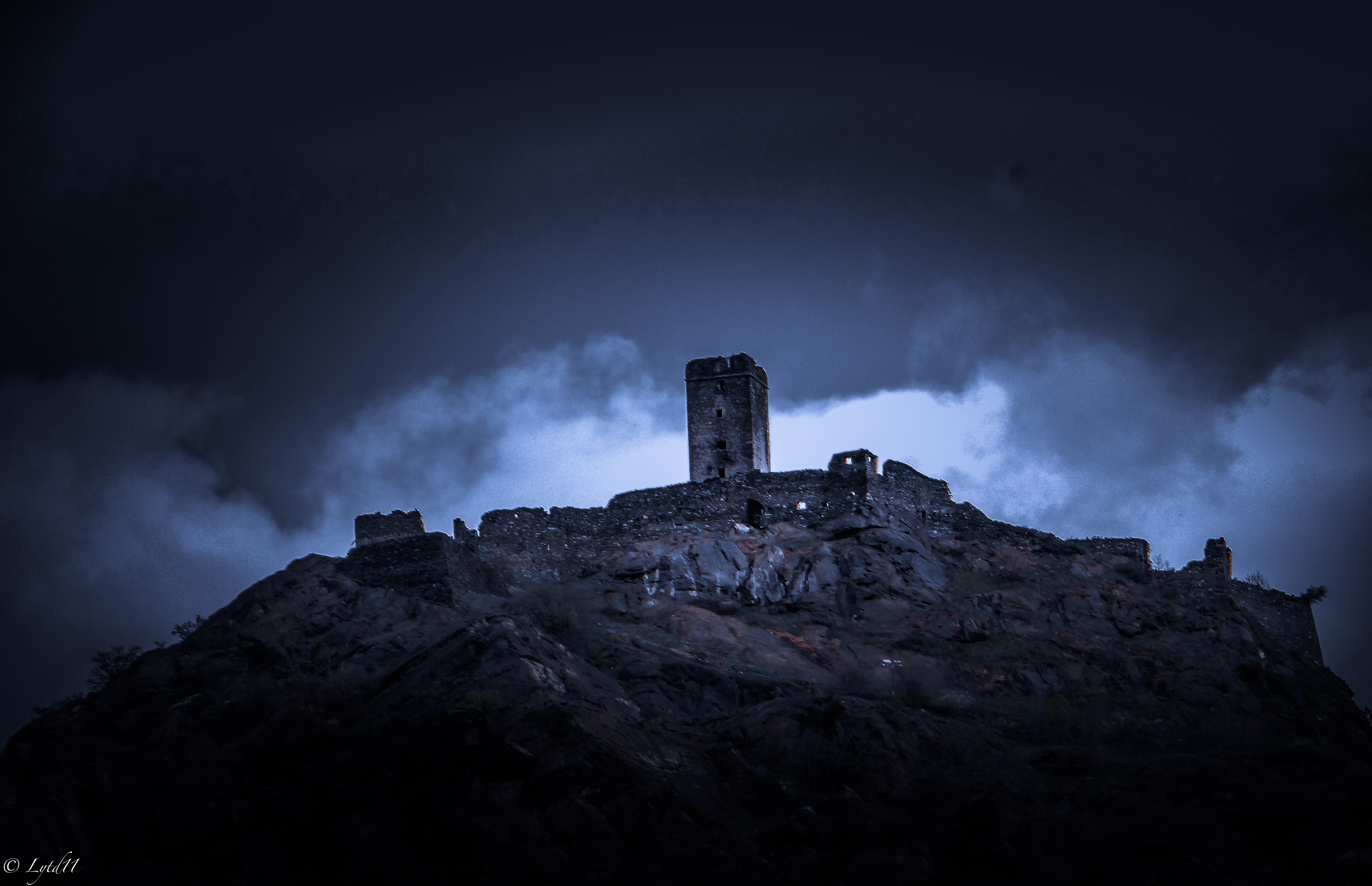 Il castello di Saint-Germain a Montjovet (Foto di Emi Dattolo - LYTD11)