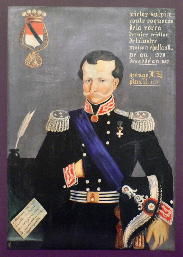 Il conte Vittorio Cacherano Osasco della Rocca Challant (da Wikipedia)