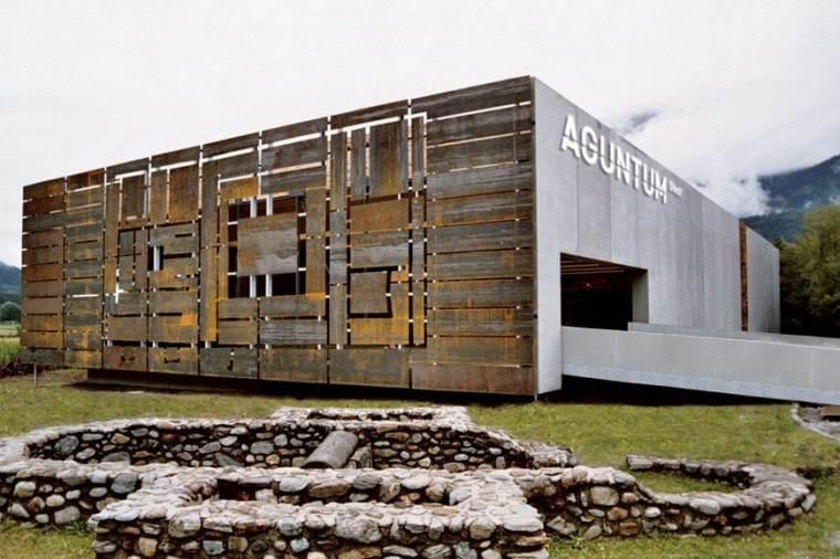 Museo archeologico di Aguntum. Dölsach, Tirolo, Austria.