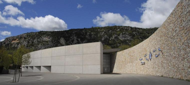 Musée de Préhistoire des Gorges du Verdon. Quinson, Alpes de Haute-Provence (Francia)