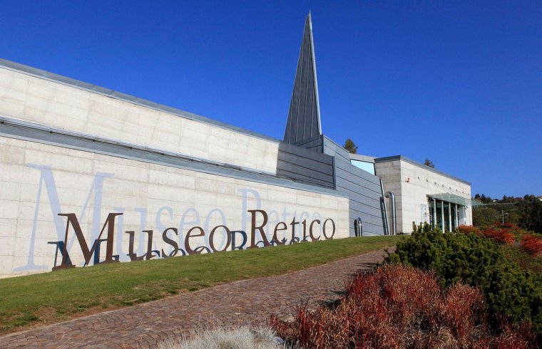 Museo Retico. Sanzeno, Val di Non, Trentino Alto Adige, Italia