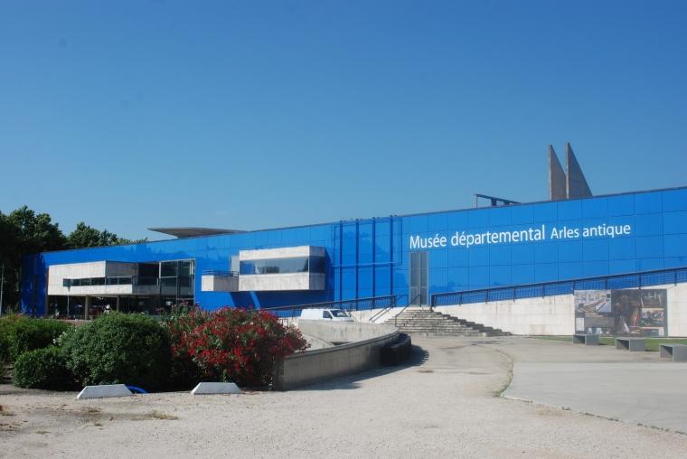 Musée départemental de l'Arles antique. Arles, Provenza, Francia
