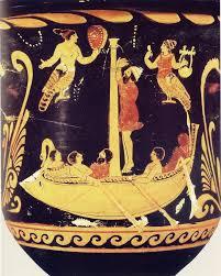 """Ulisse e le sirene""-cratere a figure rosse da Paestum (V secolo a.C.)"