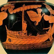 Ulisse e le sirene. Anfora a figure rosse (V secolo a.C.), British Museum, Londra