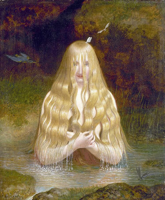 """Ondine"", di Jacques Laurent Agasse (1843)"