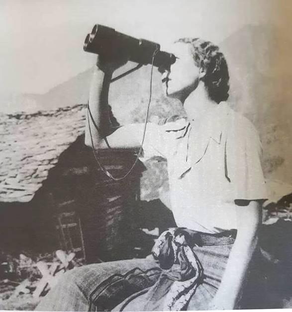 """Maria Josè alle Cime Bianche (dal libro """"Umberto e Maria José di Savoia. Escursioni e soggiorni in Valle d'Aosta"""", di M. Fresia Paparazzo"""