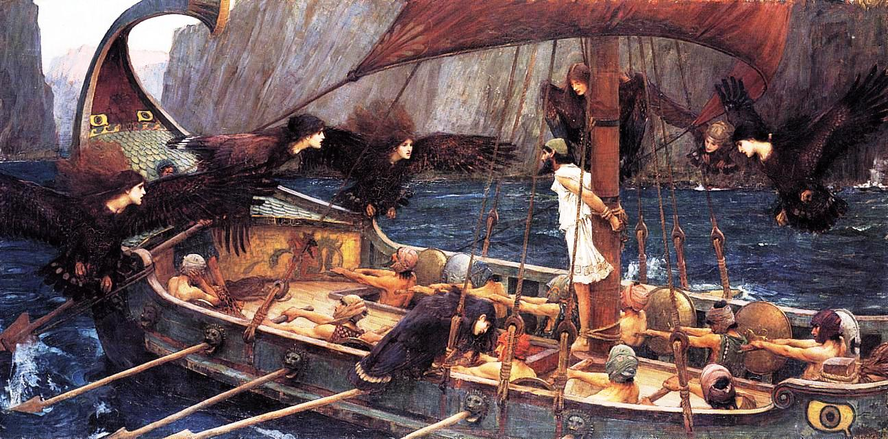 Ulisse e le sirene (John William Waterhouse)
