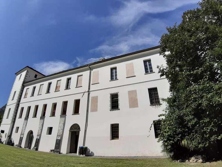 Chateau Vallaise oggi, agosto 2019