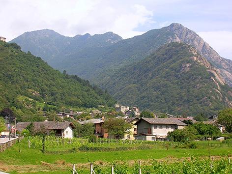Arnad-paesaggio