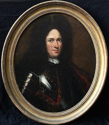 Portrait d'un gentilhomme inconnu-XVII siècle