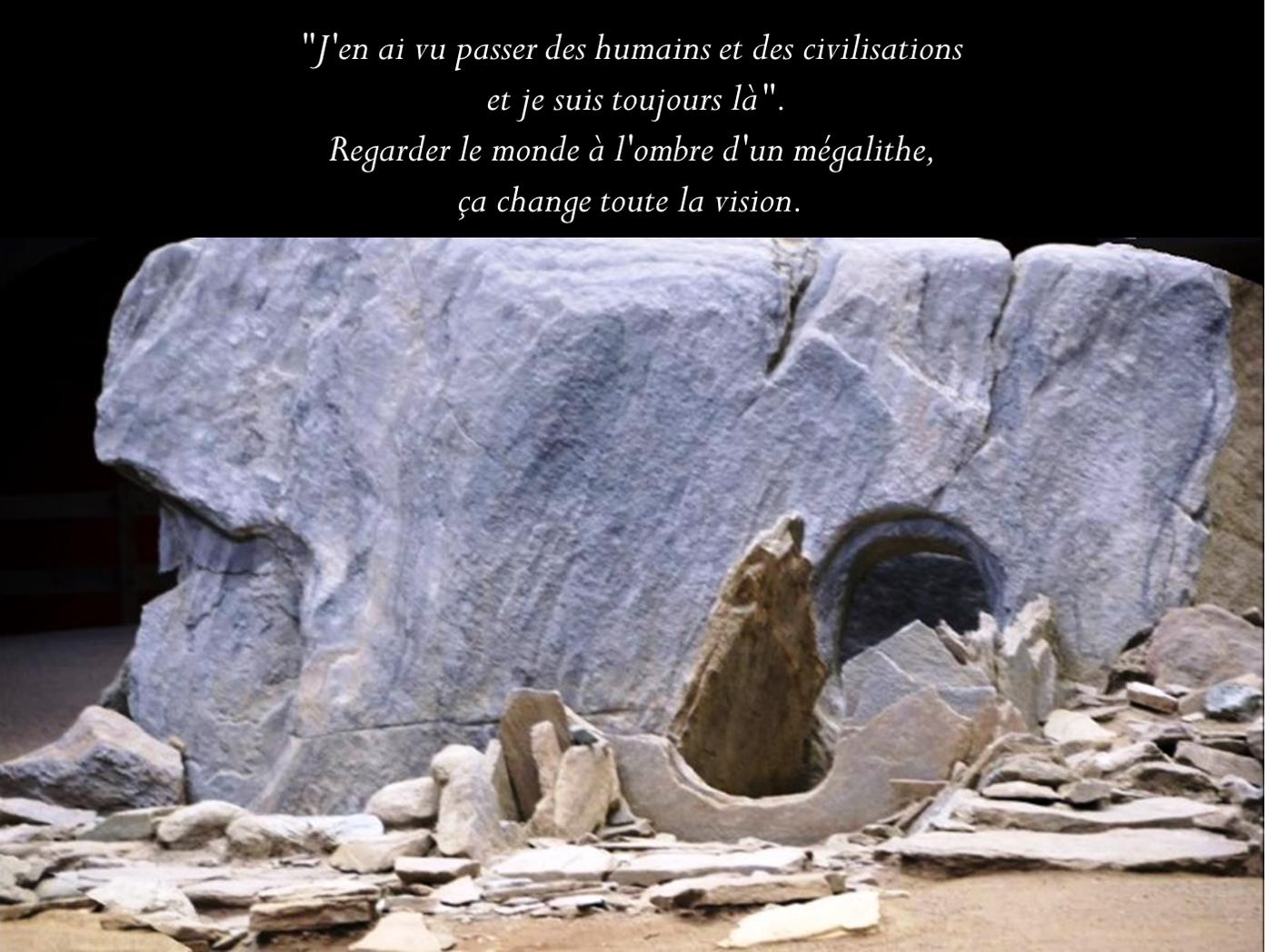 Meditazioni all'ombra di un megalite