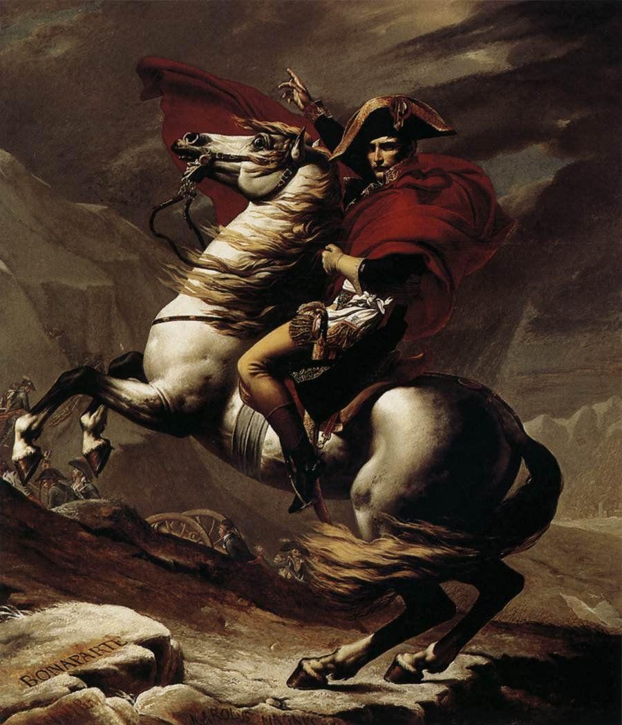 Napoleone valica il San Bernardo (J.L. David)