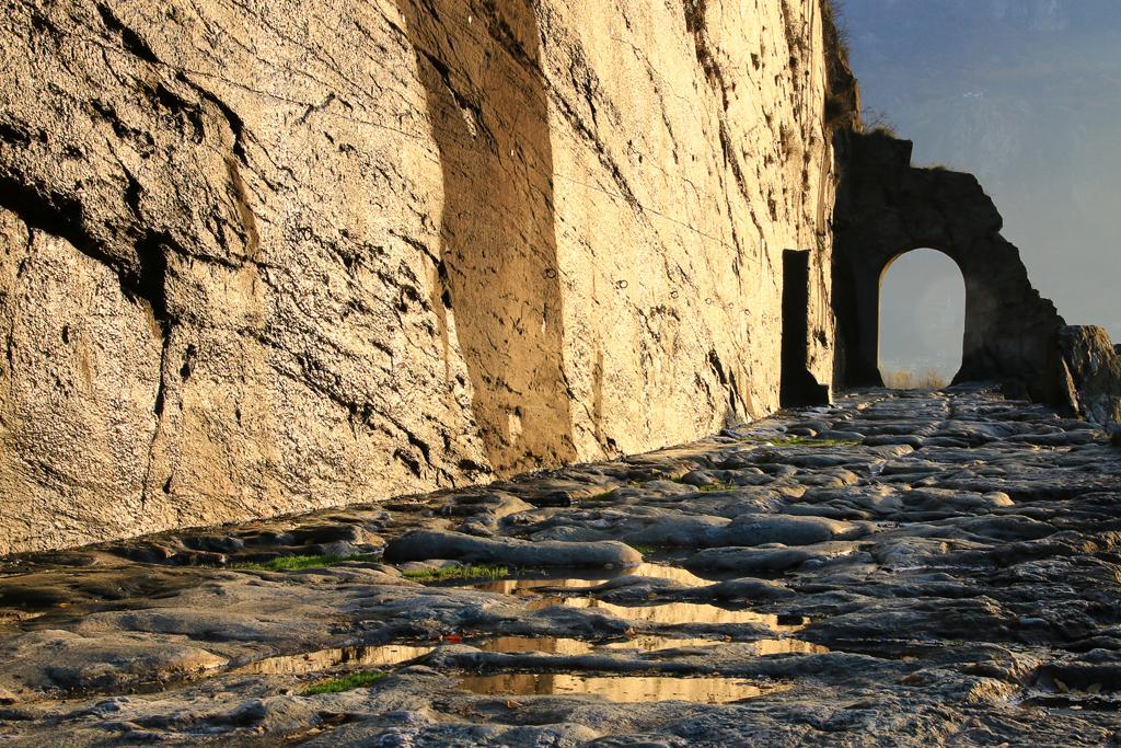 Donnas, il tratto più emozionante della strada romana delle Gallie