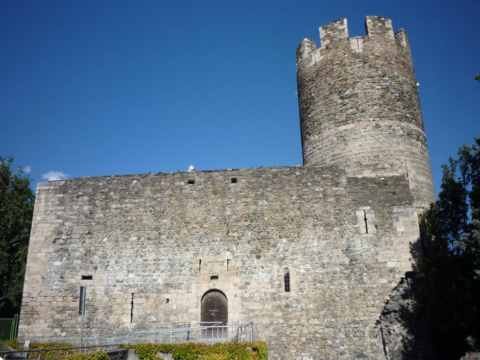 Aosta. La Torre di Bramafam