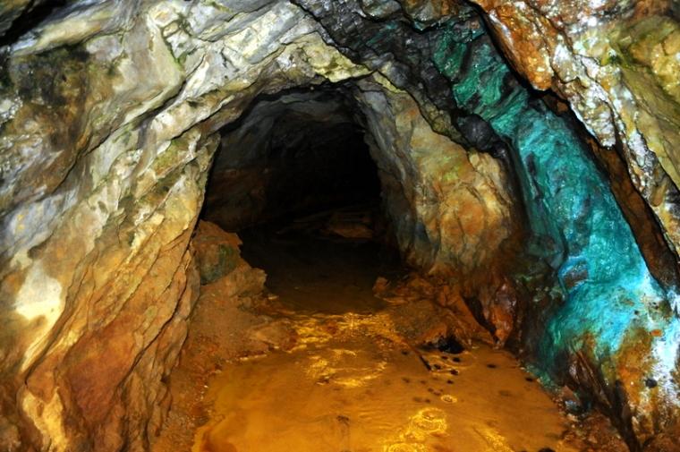La miniera di Servette (Saint-Marcel)